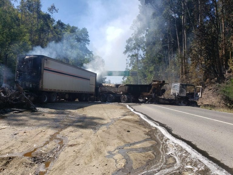 Gobierno reconoce impotencia tras últimos ataques incendiarios en Arauco: Intendente del Biobío pedirá refuerzos, incluso militares