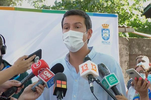 """Narváez califica como una """"anomalía"""" lo que ocurre en Renca y pide al Congreso resolver situación"""