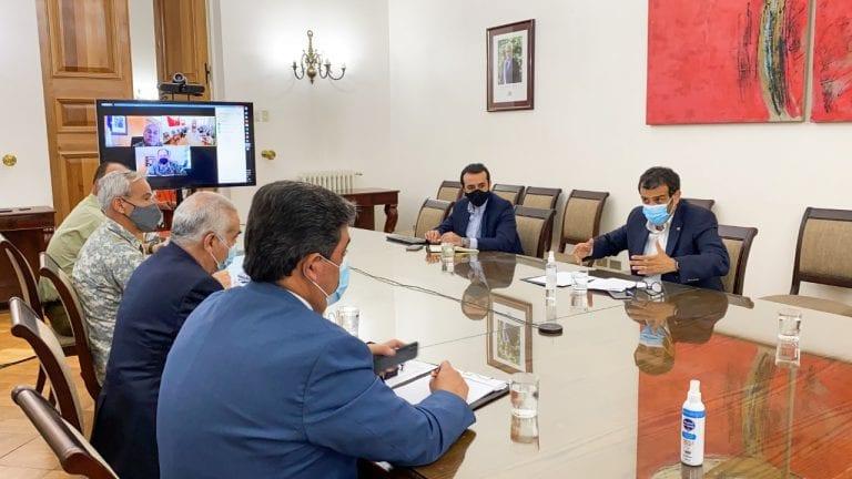 Ministro del Interior se reúne a esta hora con altos mandos de las FF.AA. y policías para coordinar medidas ante crisis migratoria