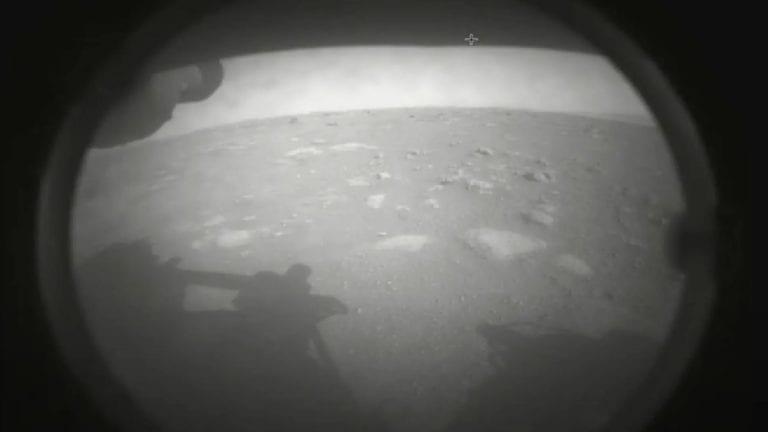 Las primeras fotografías a color de Perseverance en Marte