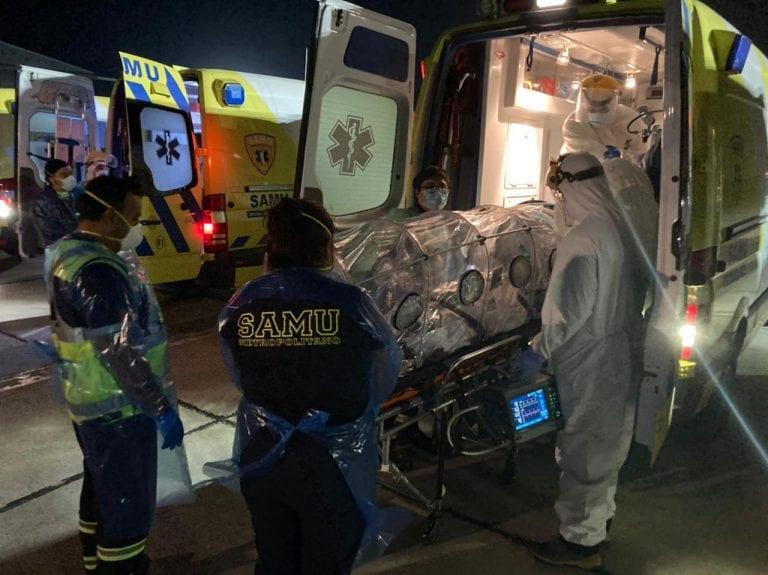 La pandemia sin piedad en Chile: 8.195 nuevos contagios y 183 fallecidos