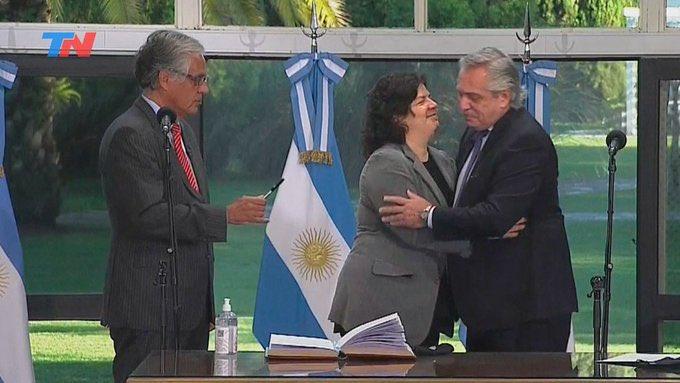 Argentina: A 6 días de nombrada ministra de Salud, Carla Vizzotti, se contagió de coronavirus