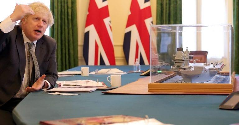 Premier británico raya la cancha y anuncia el nuevo rol que tomará el Reino Unido en el mundo con énfasis en la protección  a la libertad de los mares