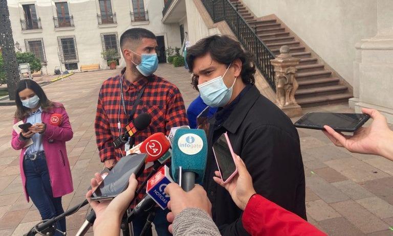 Diputados RN llegaron a La Moneda a pedir urgencia en la Agenda de Seguridad y emplazaron a oposición a condenar ataques en la Araucanía