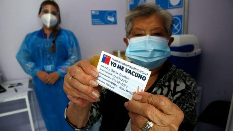 77,36% de la población objetivo completó su esquema de vacunación contra SARS-CoV-2