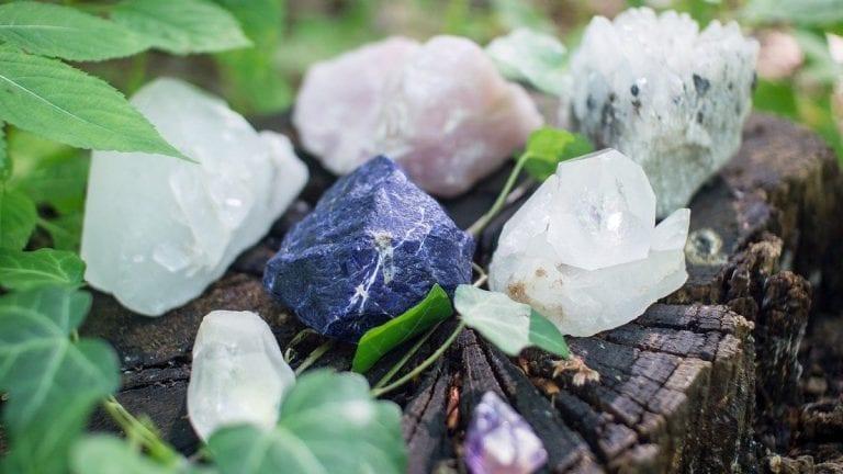 Cristales y cuarzos para eliminar el estrés