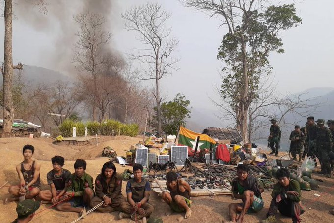 Birmania: Al menos 114 muertos en las protestas contra el Día de las FFAA