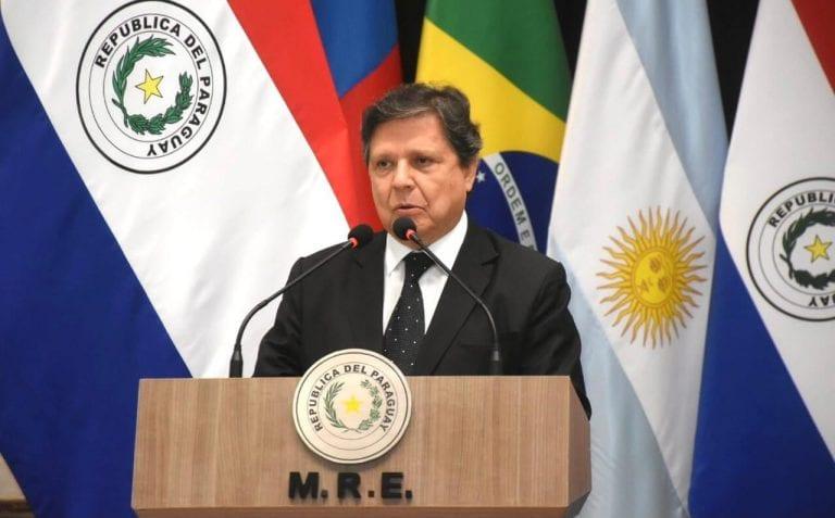 Canciller paraguayo visitará Brasil, Argentina y Chile entre el 17 y 22 de marzo