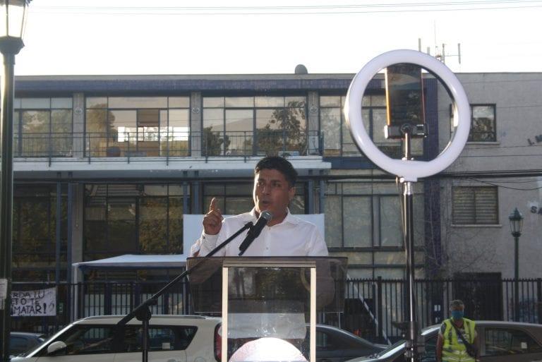 """Candidato a alcalde  por San Bernardo denuncia """"arreglín político"""" decisión del Congreso que dio luz verde a candidatura que fue rechazada por el Servel"""