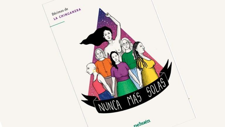 """""""Nunca más Solas"""": El libro de décimas e ilustraciones que busca sensibilizar sobre la violencia de género"""