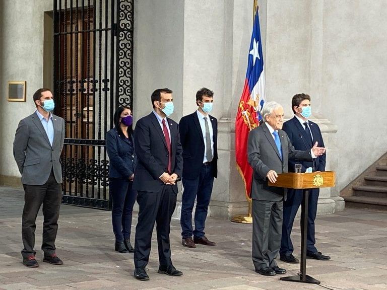 Piñera se desmorona ante sus derrotas: Acata fallo del TC, baja su proyecto de retiro de AFP y se rinde ante el Congreso