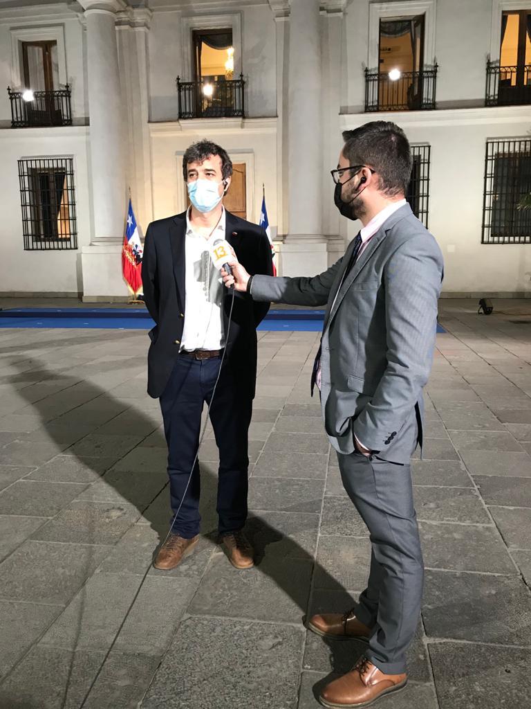 Ossa descartó que el proyecto presidencial signifique que se le dobló la mano al Gobierno