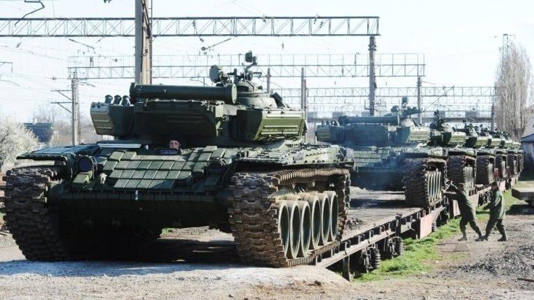 ¿Baja la tensión? Rusia anunció el inicio del repliegue de sus tropas desde la frontera con Ucrania
