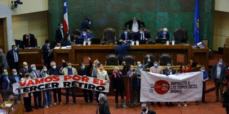 Por aplastante votación Cámara de Diputados aprueba Tercer Retiro 10% y queda listo para ser Ley