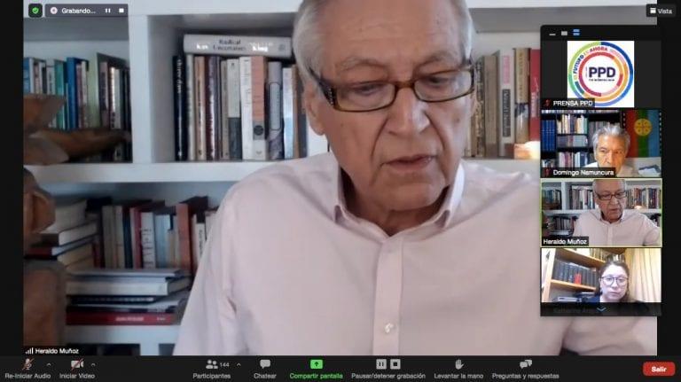 PPD ratifica candidatura presidencial de Heraldo Muñoz y propone fórmula con tres caminos