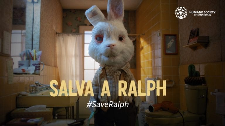 Save Ralph: el cortometraje animado que busca prohibir las pruebas cosméticas en animales