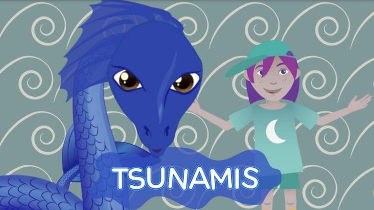 Lanzan serie animada para educar a los niños sobre el riesgo de tsunami