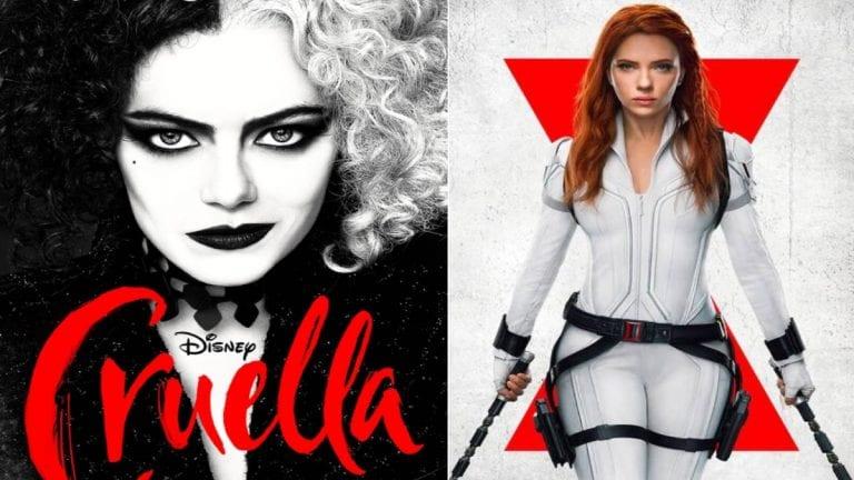 Cruella y Black Widow se podrán ver anticipadamente en Disney+