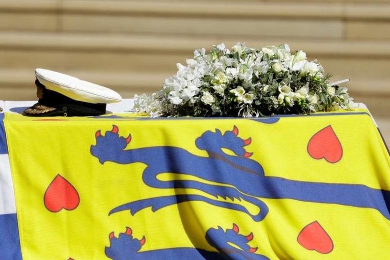 SM Isabel II encabezó el funeral del Príncipe Felipe