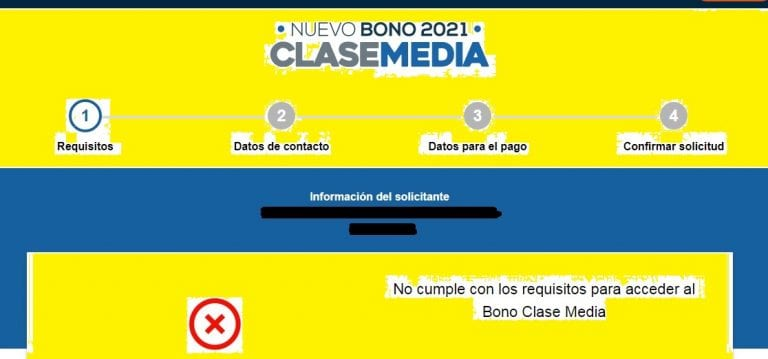 """Gente enfurecida se manifiesta en Twitter por masivos rechazos a Bono Clase Media: """"No cumple con los requisitos…."""""""