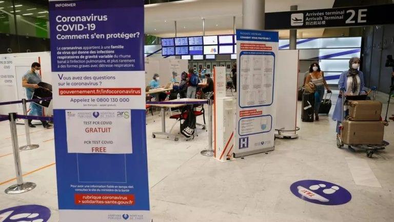 Francia aplicará cuarentenas a viajeros de Chile, Brasil, Argentina y Sudáfrica