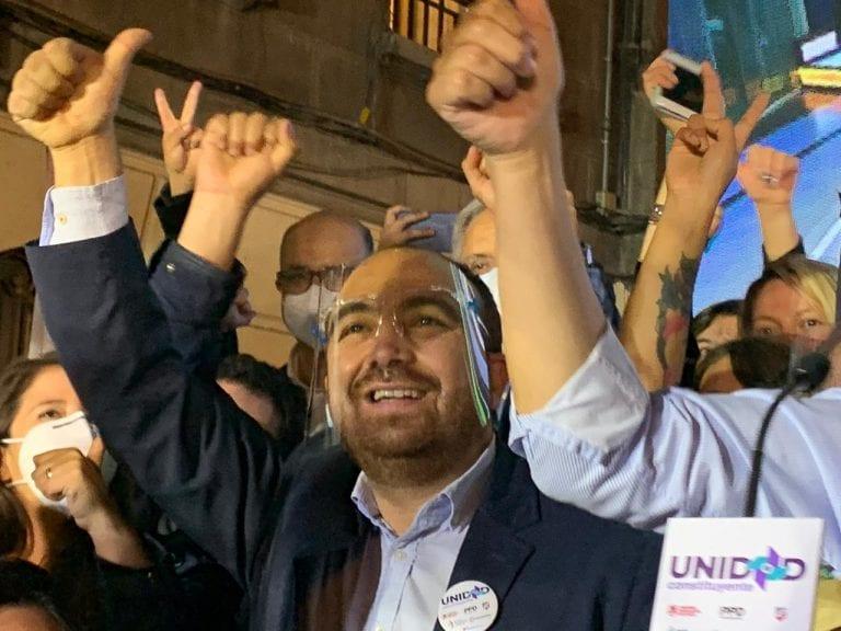 Senador Huenchumilla tras la debacle DC pide la renuncia de Fuad Chahín y mesa directiva