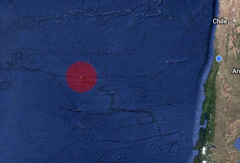 Fuerte sismo sacude Isla de Pascua