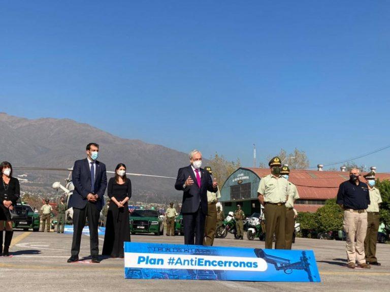"""Presidente se acordó (otra vez) de la Agenda Antidelincuencia: Presentó """"Plan Antiencerronas y Antiportonazos"""""""