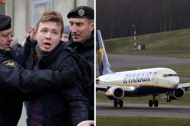 Indignación internacional contra régimen de Belarús por desvío de avión para arrestar a un opositor