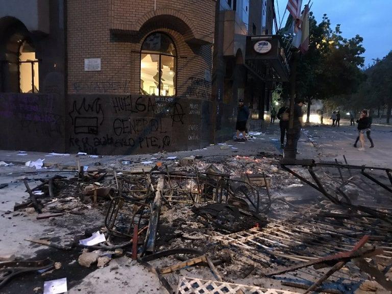 Justicia condena a 6 años de cárcel a dos implicados por incendio en Hotel Príncipe de Asturias
