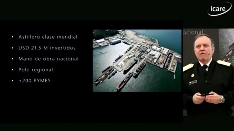 Comandante en Jefe de la Armada propone Construcción Naval Continua
