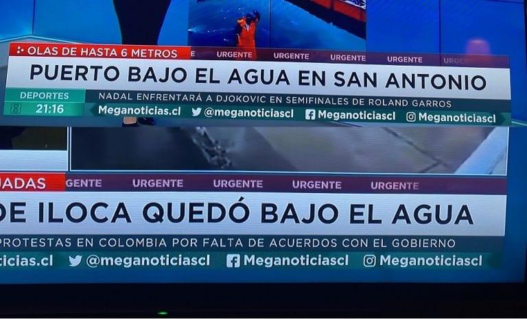 """Cuando informar es desinformar y alarmar innecesariamente: """"Iloca quedó bajo el agua (Mega)"""""""