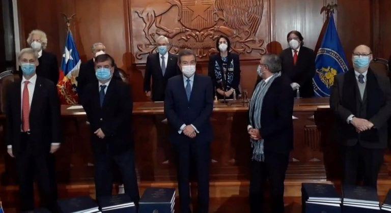 Con Piñera presente, Tricel proclama oficialmente a los 155 convencionales constitucionales
