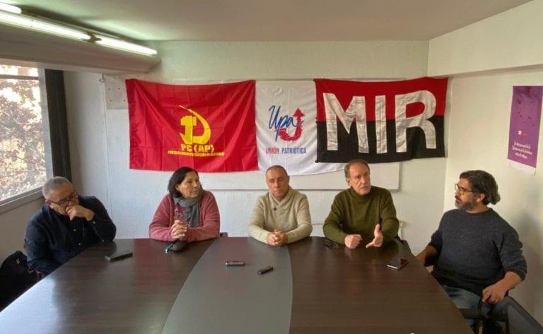 """Unión Patriótica ratifica a Eduardo Artés como candidato presidencial y propone FFAA """"integradas a la producción"""""""
