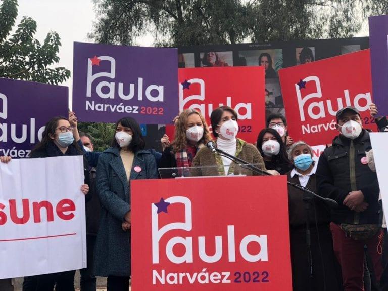 """Narváez da a conocer su programa """"para unir, para cuidar, y para avanzar con Chile"""""""