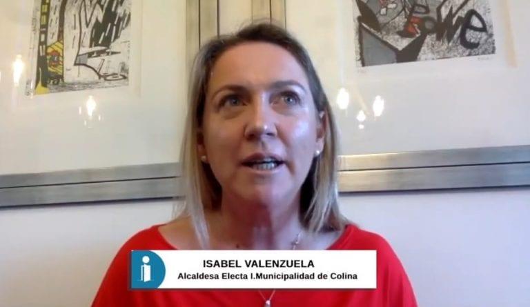 Las Cartas Sobre La Mesa: Isabel Valenzuela, alcaldesa electa de Colina