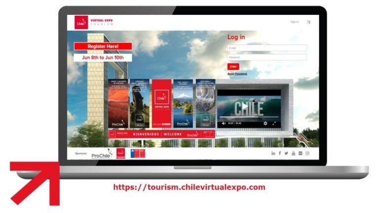 Chile Virtual Expo Tourism: la primera feria digital multimercado para reactivar el turismo
