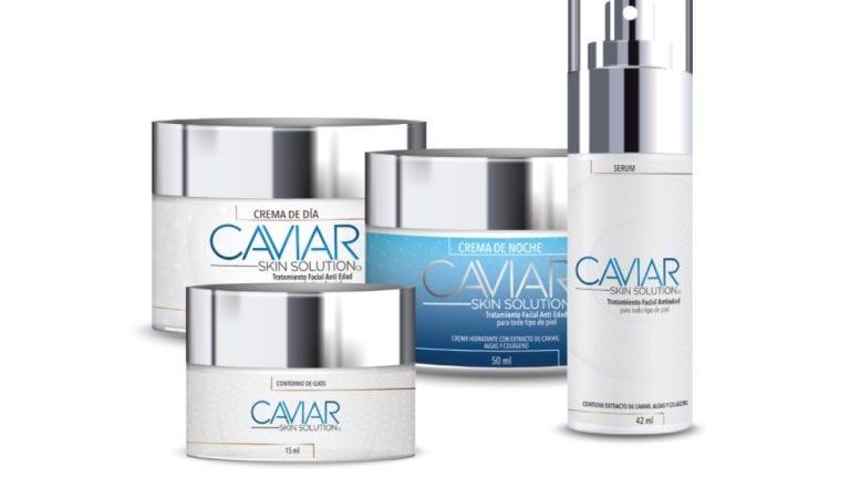 Prueba el poder de Caviar Skin Solutions