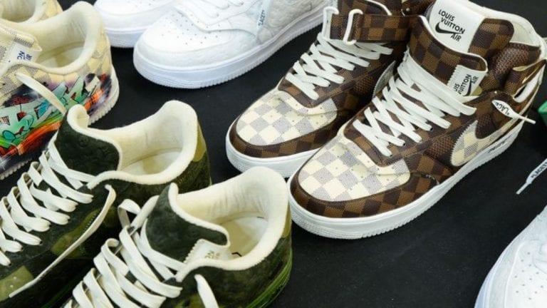 Estas son las nuevas Nike Air Force 1 de Louis Vuitton