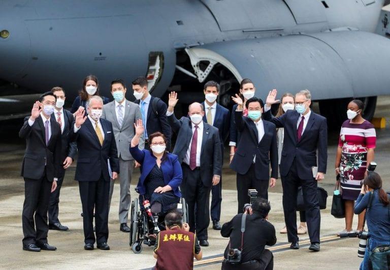 Taiwán recibe 750.000 vacunas COVID-19 de EEUU