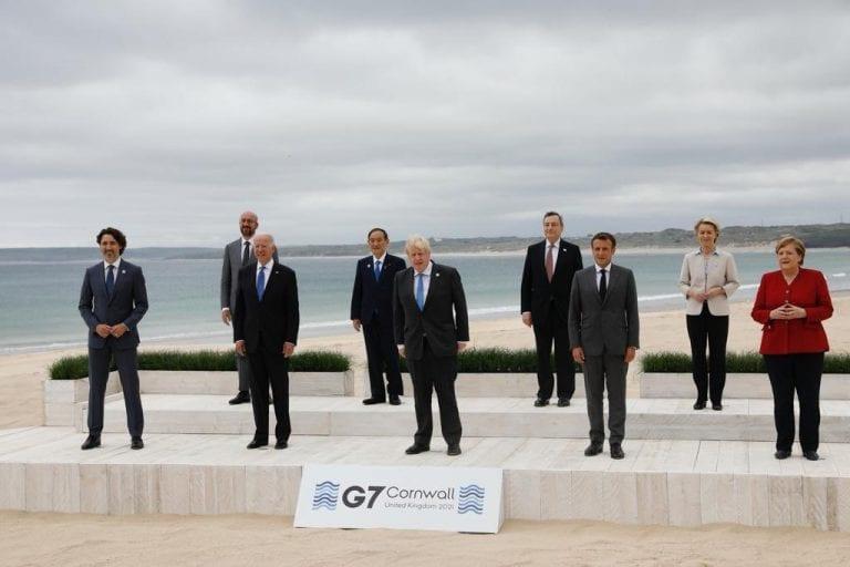 Cambio climático y pandemia se toman la agenda de la cumbre del G7