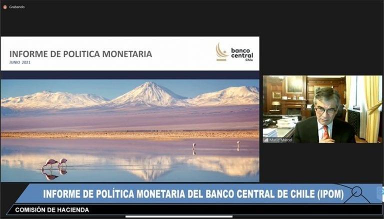 IPOM: Banco Central eleva fuertemente el crecimiento económico en 8,5% y 9,5%