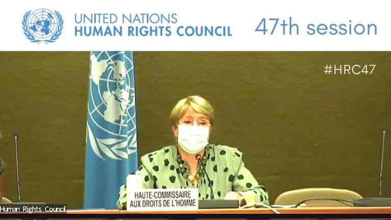 """Bachelet denuncia los """"más graves"""" retrocesos en derechos humanos"""