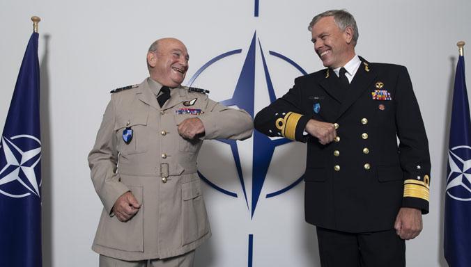OTAN: Asume almirante Rob Bauer  como presidente del Comité Militar NATO