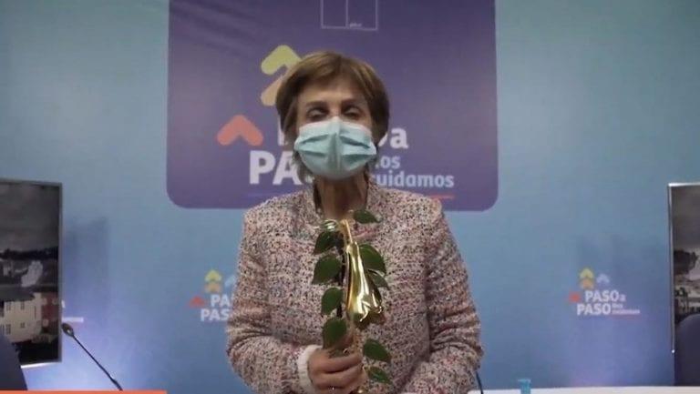 """Para no creer: Paula Daza gana el """"Copihue de Oro"""" como reina del certamen"""