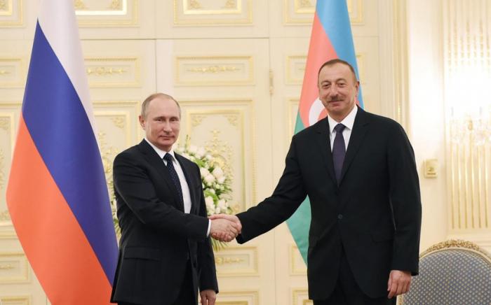 Pdtes. de Rusia y Azerbaiyán reafirman intención de afianzar asociación estratégica entre ambos países
