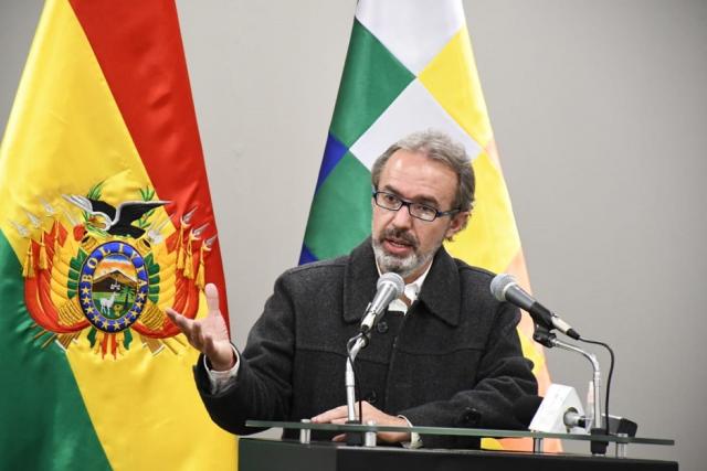 Gobierno boliviano investigará si Chile tuvo participación  en protestas contra Evo Morales