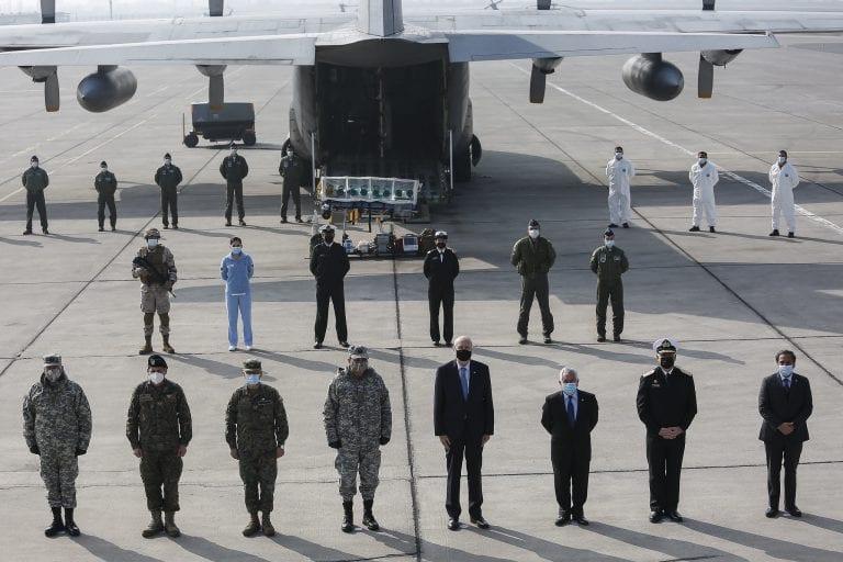 Ministros de Defensa y Salud distinguieron a diversas unidades de las FF.AA. por su labor durante la pandemia de Covid-19