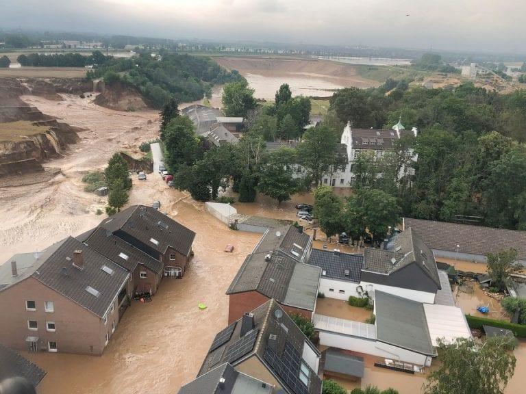 Inundaciones en Alemania dejan más de un centenar de muertos y miles de desaparecidos