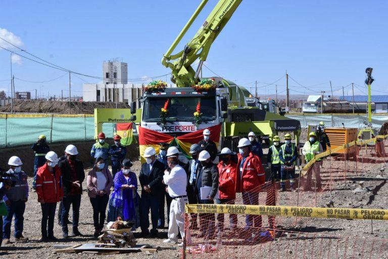 Bolivia inició la construcción de su primer reactor nuclear con apoyo ruso